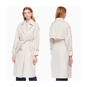 NEW Kate Spade Relaxed Twill Trench Coat